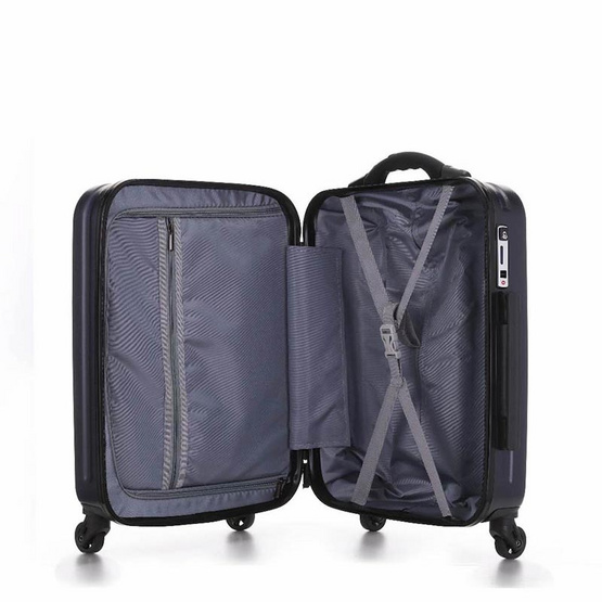 ProDiGee S03 Dark Navy 20 นิ้ว smart luggage กระเป๋าล้อลากอัจฉริยะ รองรับทั้ง iOS และ Android