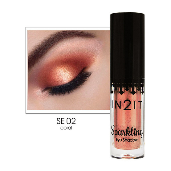 IN2IT Sparkling Eye Shadow SE02 coral 2 g