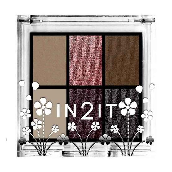 In2IT Nude Colour Palette #ESN04 mauve 5 g