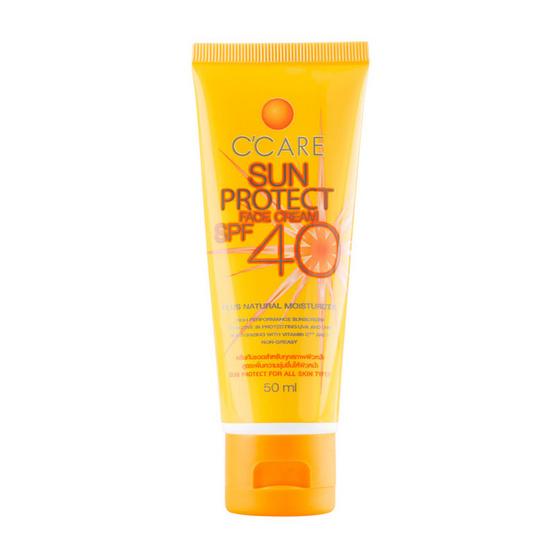 C'CARE SUN PROTECT FACE CREAM SPF 40 50 ml