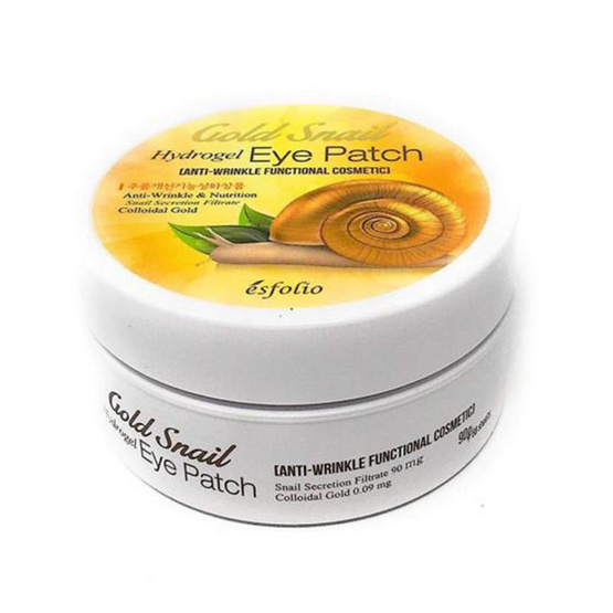 Esfolio Gold Snail Hydrogel Eye Patch 60 sheets