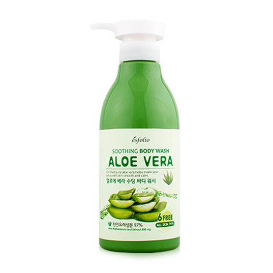 Esfolio Aloe Vera Soothing Body Wash 500 ml