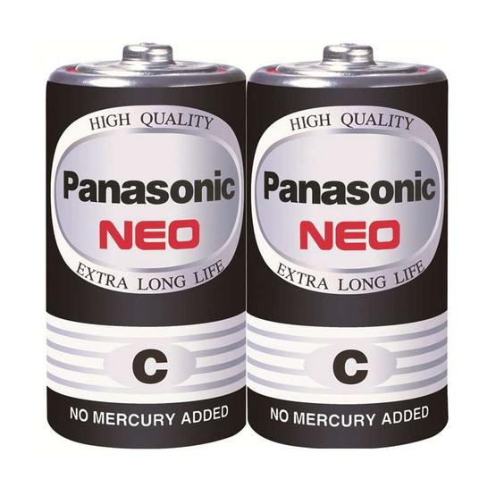 Panasonic NEO ถ่านไฟฉาย รุ่น R14NT/2SL C (2 ก้อน)