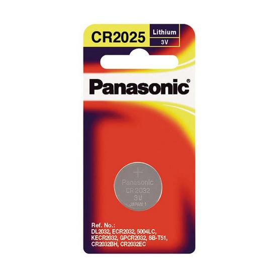 Panasonic ถ่านกระดุมลิเธี่ยม รุ่น CR-2025PT/1B