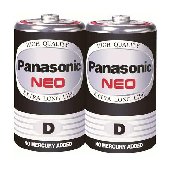 Panasonic Neo ถ่านไฟฉาย รุ่น R20NT/2SL D (2 ก้อน)