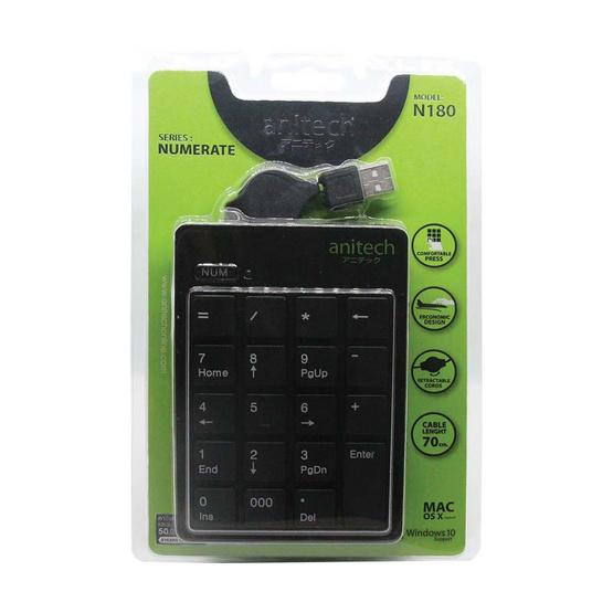 Anitech Keynumeric N180