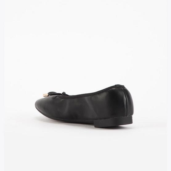D'ARTE รองเท้าผู้หญิง FLATS BOWIE D55-18047-BLK