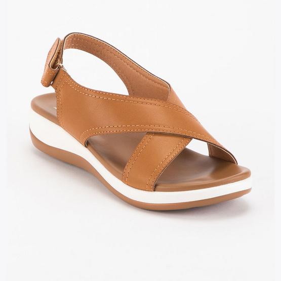 D'ARTE รองเท้าผู้หญิง SANDALS MARISA D56-18010-TAN