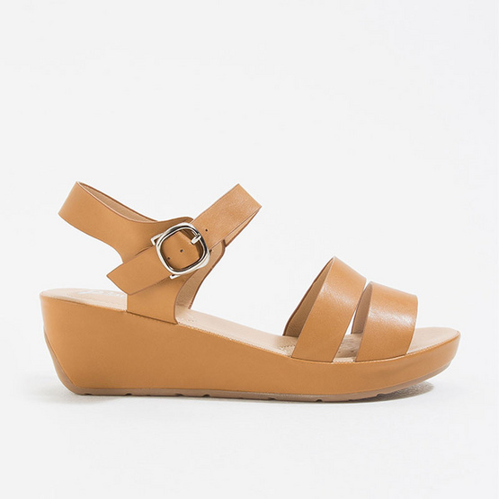 D'ARTE รองเท้าผู้หญิง MILLIE COMFORT D66-17618-TAN