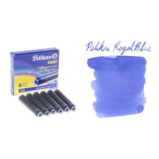 Pelikan ปากกาหมึกซึม Twist Silver (แถมฟรี! หมึกหลอด 2 กล่อง)