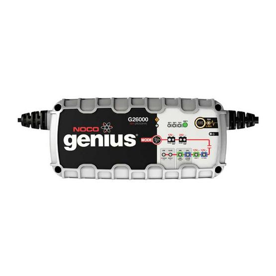 NOCO Genius เครื่องชาร์จแบตเตอรี่อัจฉริยะ G26000 26A (26000mA)