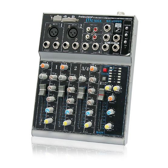 MIXER มิกเซอร์ รุ่น MX-400US