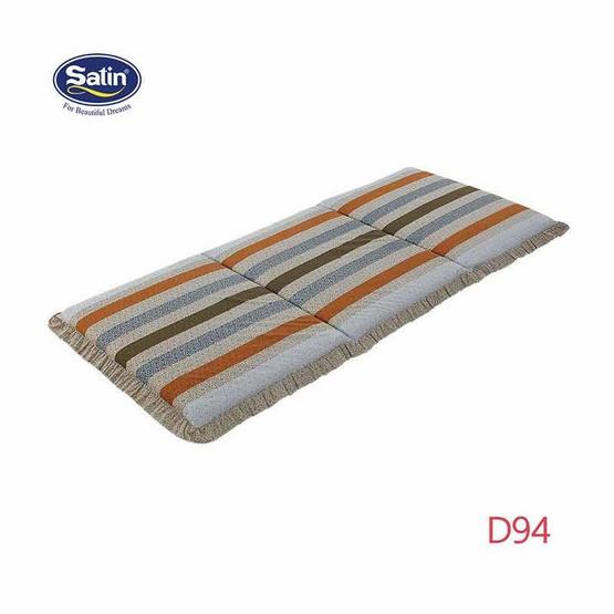 Satin ที่นอน 3 ตอน ขนาด 3 x 6.5 ฟุต ลาย D94