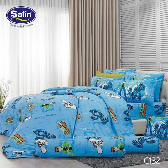 Satin Junior ผ้าปูที่นอน ลาย C132