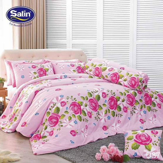 Satin ผ้าปูที่นอน ลาย D87