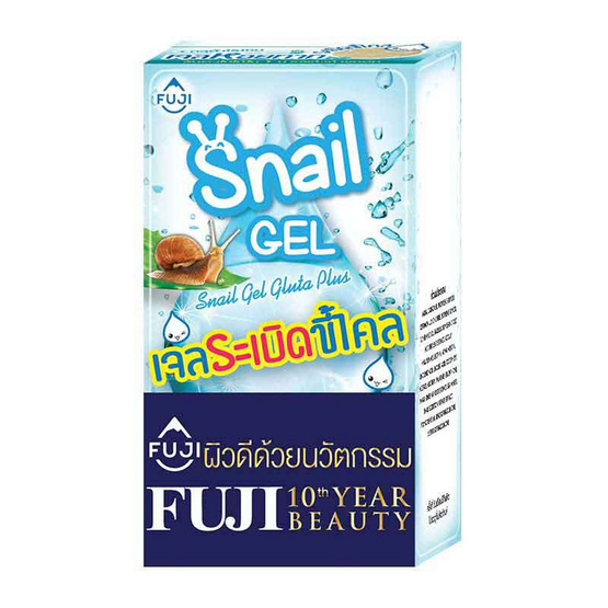 FUJI SNAIL GEL WITH GLUTA 10 g (PACK 6)
