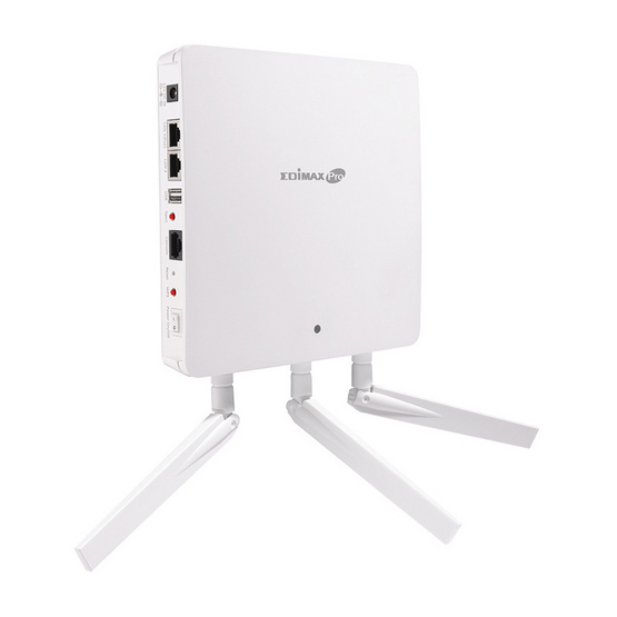 Edimax Pro WAP1750 3 x 3 AC Dual-Band Wall-Mount PoE Access Point