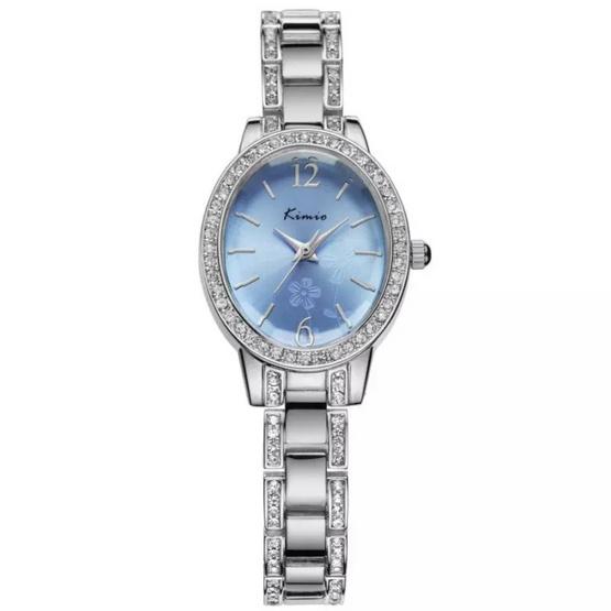 Kimio นาฬิกาข้อมือผู้หญิง สายสแตนเลส รุ่น KW6008
