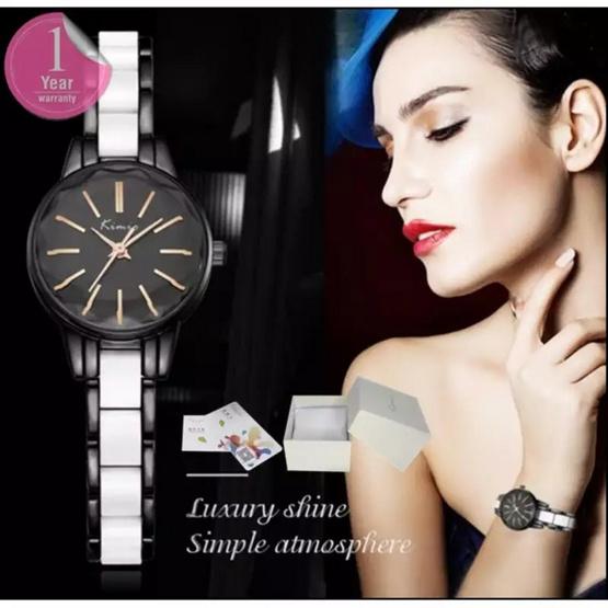 Kimio นาฬิกาข้อมือผู้หญิง สาย Alloy รุ่น KW6138