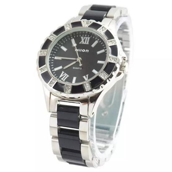 Wilon นาฬิกาข้อมือผู้หญิง สายสแตนเลส รุ่น WL-1067