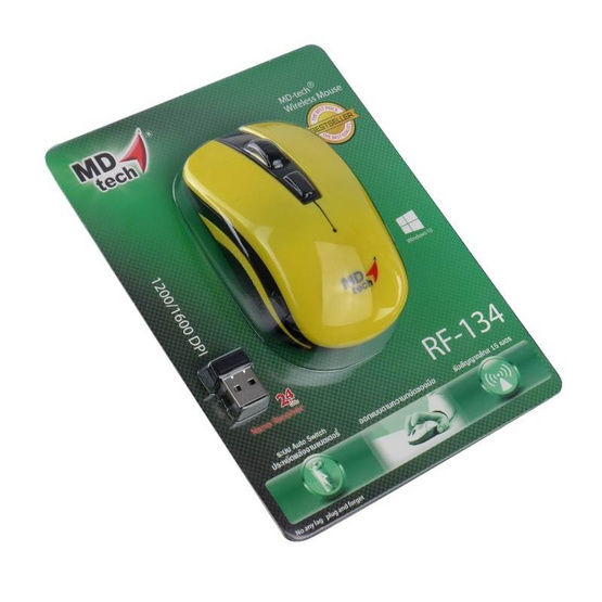 MD-TECH Wireless Optical Mouse RF-134
