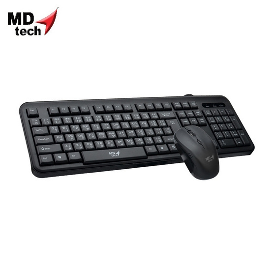 MD-TECH Wireless Combo Set Keyboard & Mouse RF-K15+M35