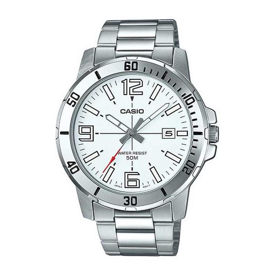 Casio นาฬิกาข้อมือ รุ่น MTP-VD01D-7BVUDF