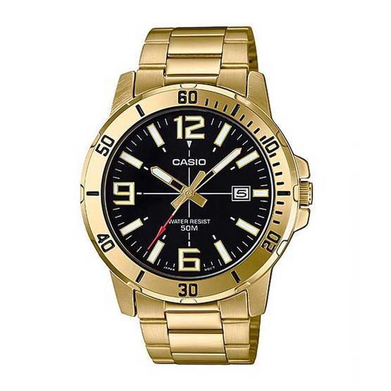 Casio นาฬิกาข้อมือ รุ่น MTP-VD01G-1BVUDF