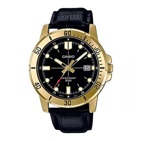 Casio นาฬิกาข้อมือ รุ่น MTP-VD01GL-1EVUDF