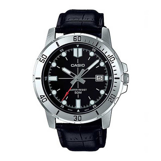 Casio นาฬิกาข้อมือ รุ่น MTP-VD01L-1EVUDF