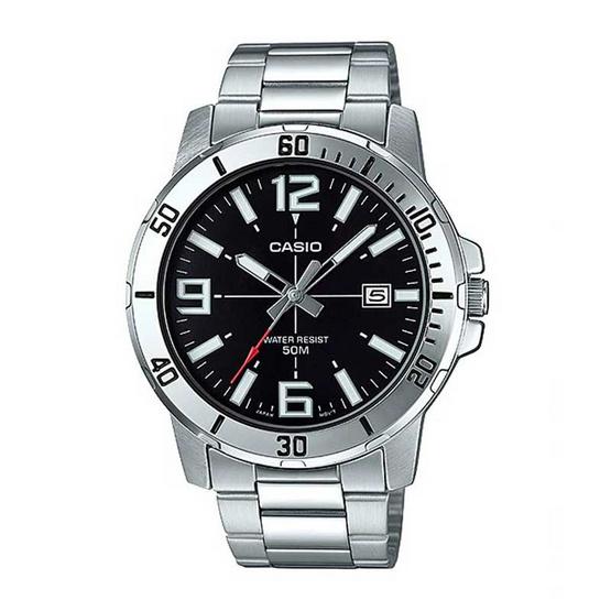 Casio นาฬิกาข้อมือ รุ่น MTP-VD01D-1BVUDF