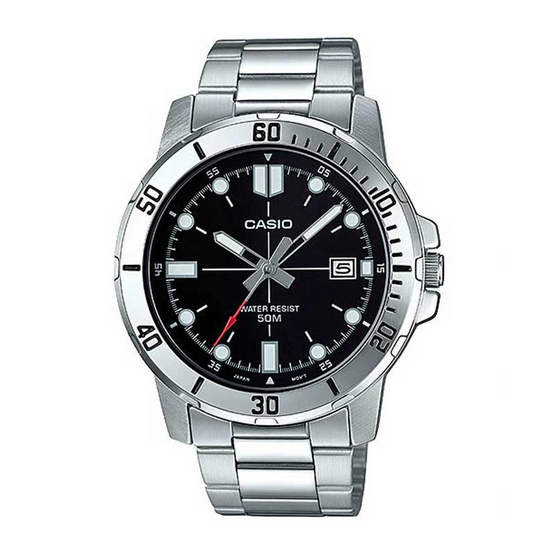 Casio นาฬิกาข้อมือ รุ่น MTP-VD01D-1EVUDF