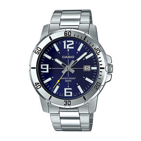 Casio นาฬิกาข้อมือ รุ่น MTP-VD01D-2BVUDF