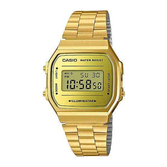 Casio นาฬิกาข้อมือ รุ่น A168WEGM-9DF