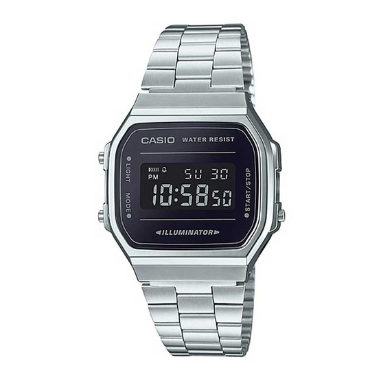 Casio นาฬิกาข้อมือ รุ่น A168WEM-1DF