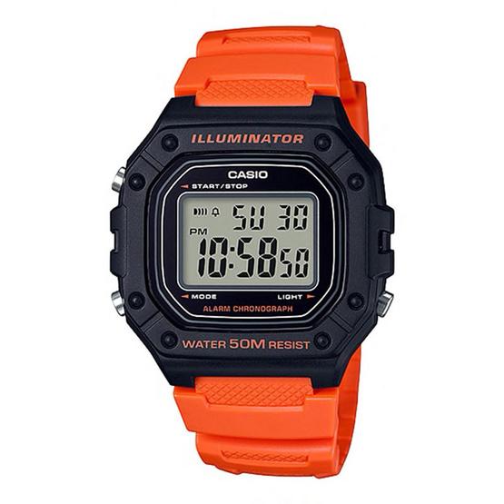 Casio นาฬิกาข้อมือ รุ่น W-218H-4B2VDF