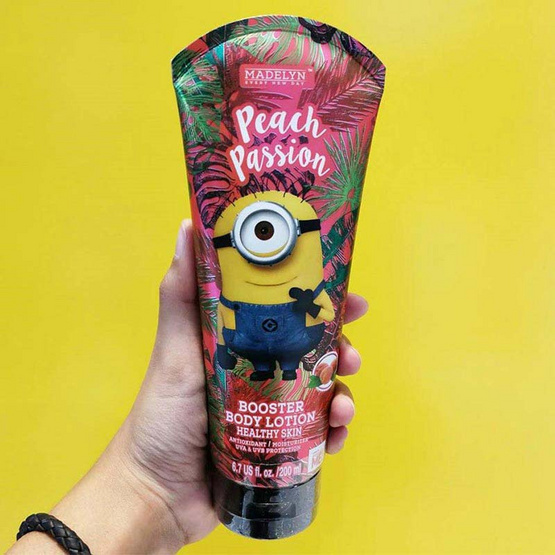 Madelyn Minion Body Lotion Peach 200 ml