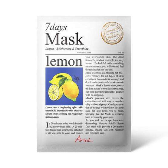 Ariul 7 Days Mask Lemon