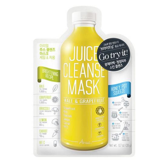 Ariul - Juice Cleanse Mask Kale & Grapefruit