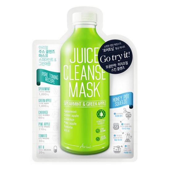 Ariul Juice Cleanse Mask Spearmint & Greenapple