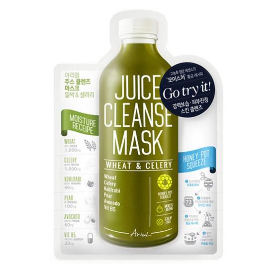 Ariul Juice Cleanse Mask Wheat & Celery