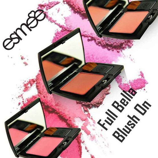 Esmee Aimer Full Bella Blush on 6 g ฟรี Rouge Full Bella Blush on 6 g