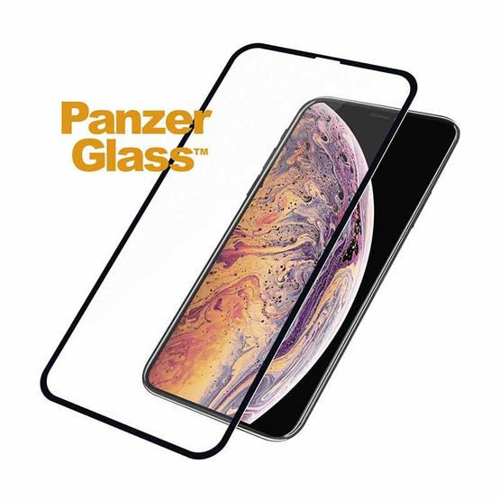 Panzer Glass ฟิล์มกระจกนิรภัย สำหรับ iPhone X รุ่น Black