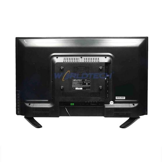 Worldtech LEDTV (แอลอีดีทีวี) ขนาด 24 นิ้ว รุ่น WT-LED2402 แถมฟรีสาย HDMI