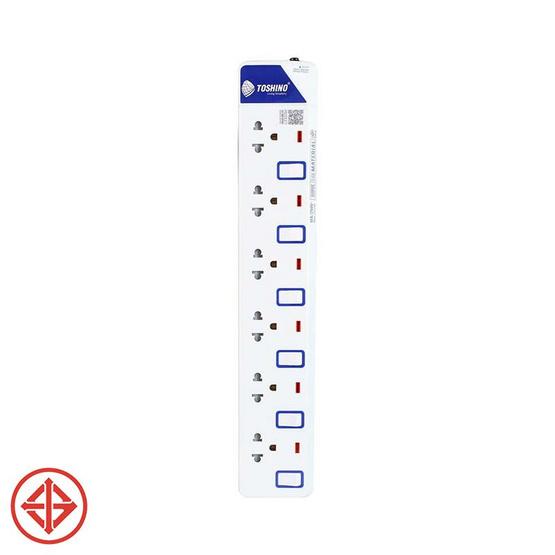 Toshino รางปลั๊ก มอก. 6 ช่อง ป้องกันไฟกระชาก สายยาว 3 เมตร รุ่น ET-916