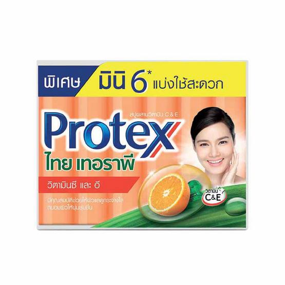 โพรเทคส์ สบู่ไทยเทอราพี วิตามิน C & E 30 กรัม / ก้อน