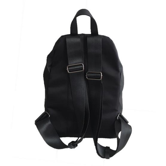 FQ&L กระเป๋าเป้หนัง PU  สี BLACK ( FAPAI-004-W9-OF )