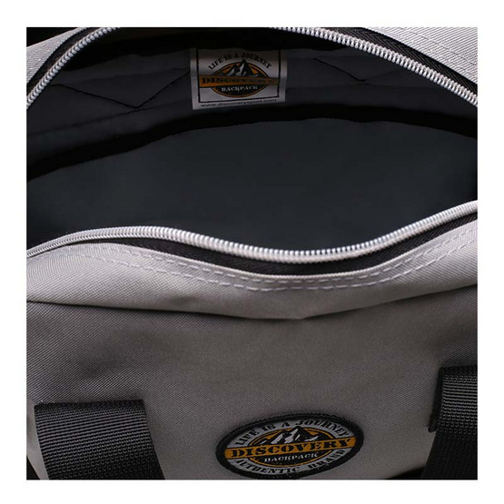 DISCOVERY กระเป๋าเป้สะพายหลัง Notebook iPad Backpack DR 1505 เทาดำ