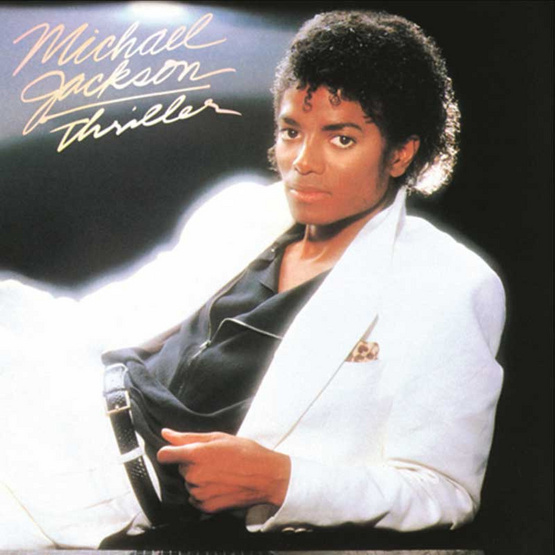 CD MICHAEL JACKSON Album THRILLER