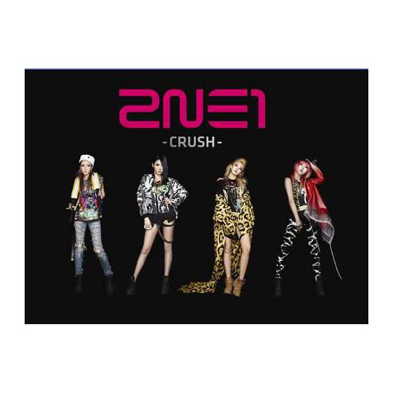 CD 2NE1 Album CRUSH (Black)